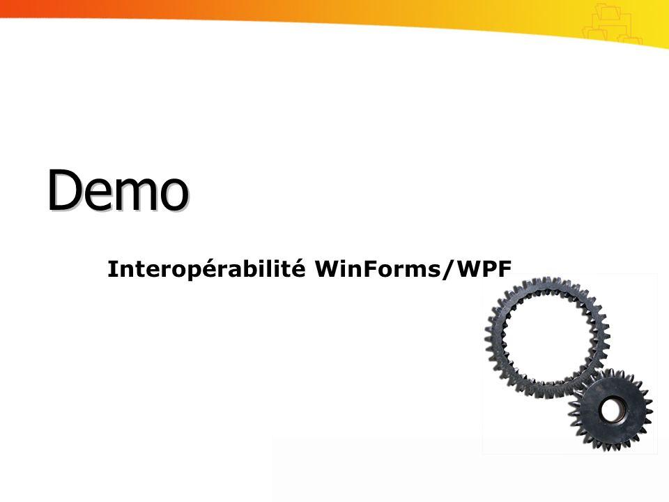 Interopérabilité WinForms/WPF