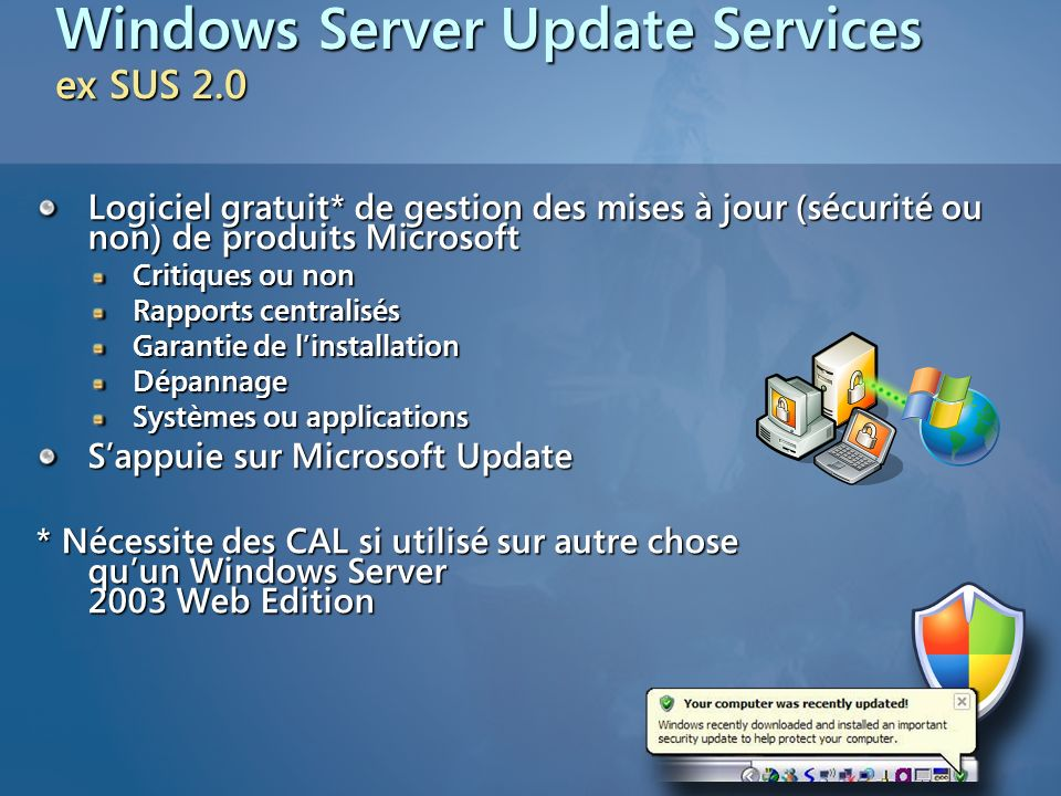 Windows Server Update Services ex SUS 2.0