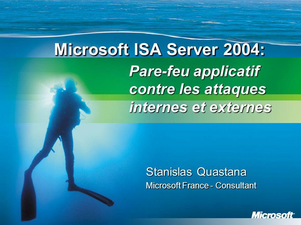 Stanislas Quastana Microsoft France - Consultant