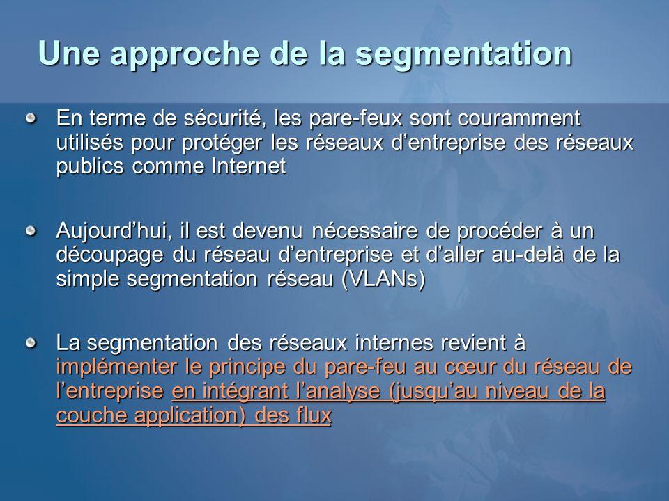 Une approche de la segmentation