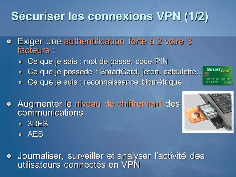 Sécuriser les connexions VPN (1/2)