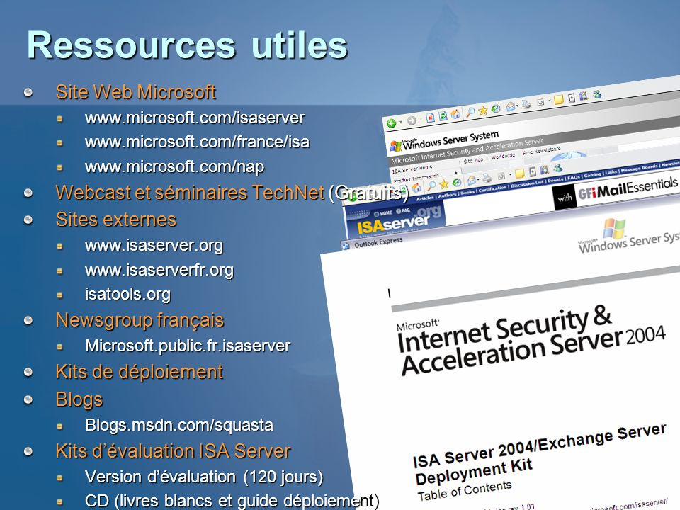 Ressources utiles Site Web Microsoft