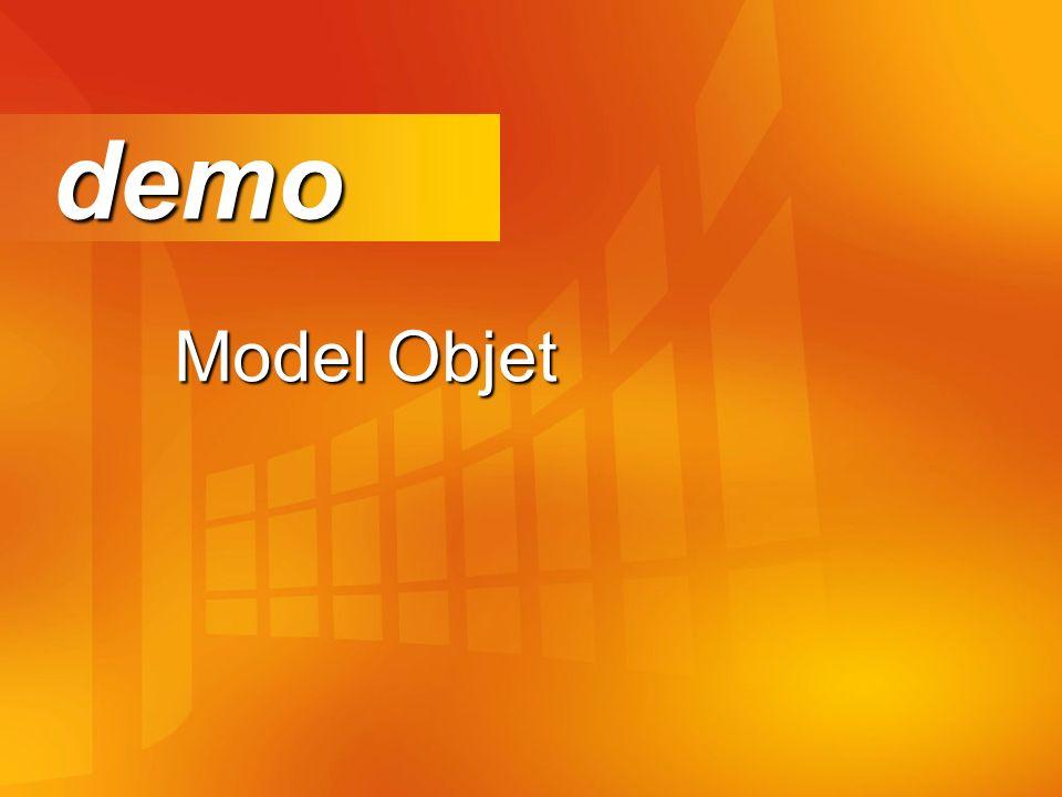 demo Model Objet Démo dans l'émulateur WAP