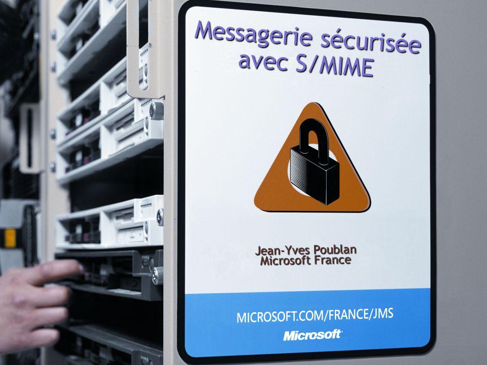 Messagerie sécurisée avec S/MIME