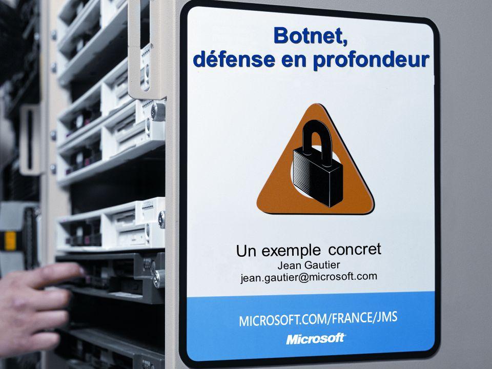 Botnet, défense en profondeur
