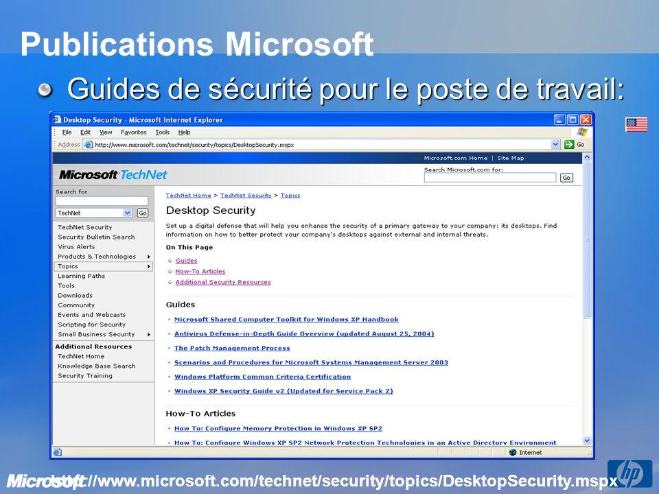 Publications Microsoft