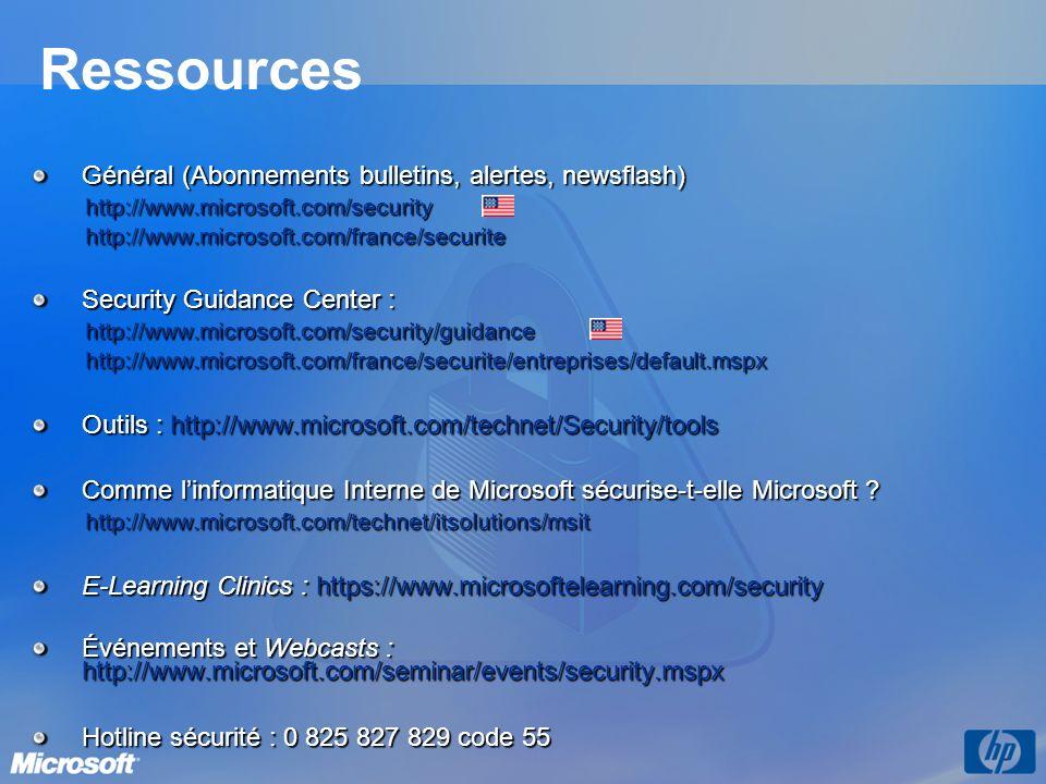 Ressources Général (Abonnements bulletins, alertes, newsflash)