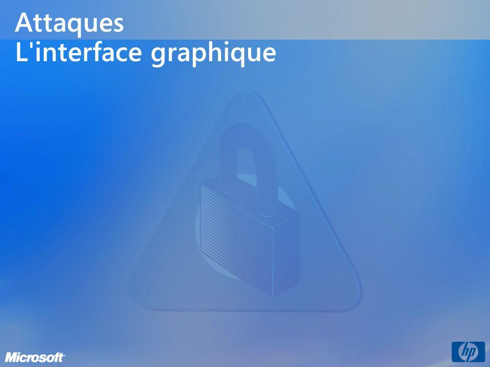 Attaques L interface graphique