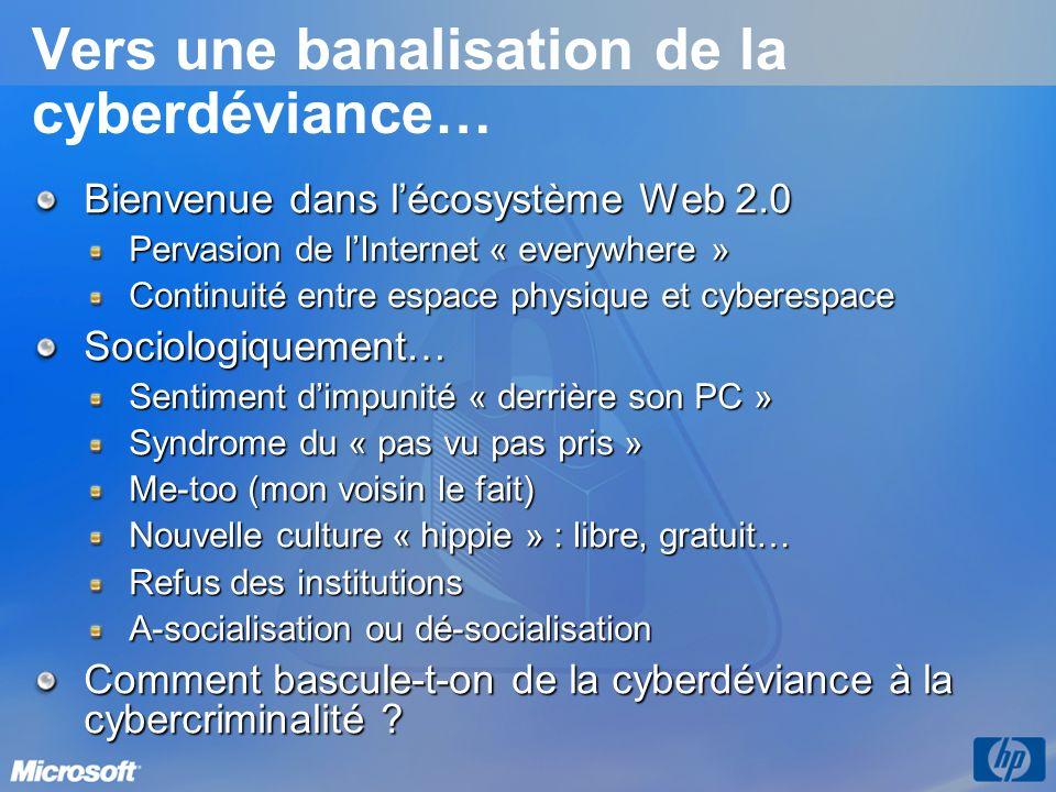 Vers une banalisation de la cyberdéviance…