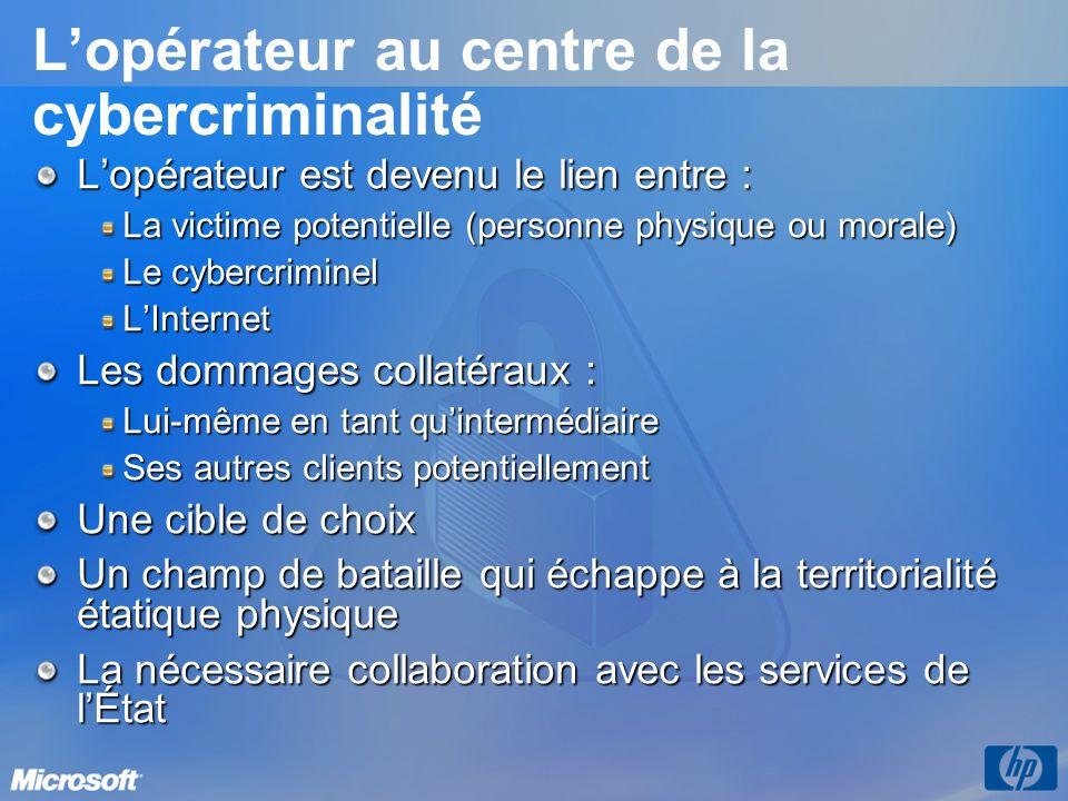 L'opérateur au centre de la cybercriminalité