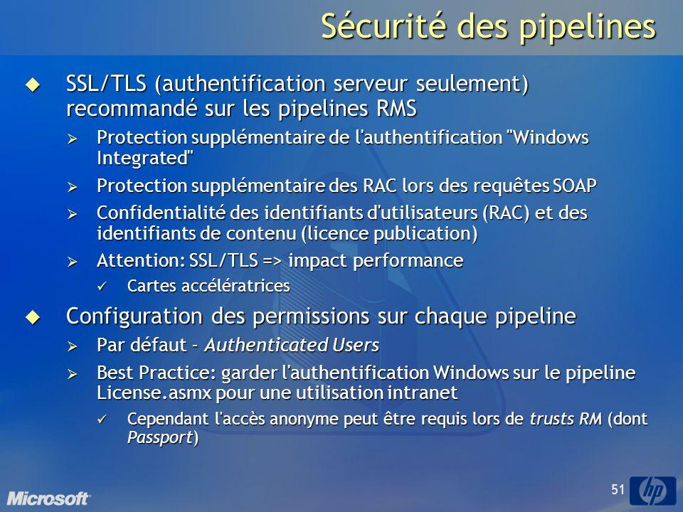 Sécurité des pipelines