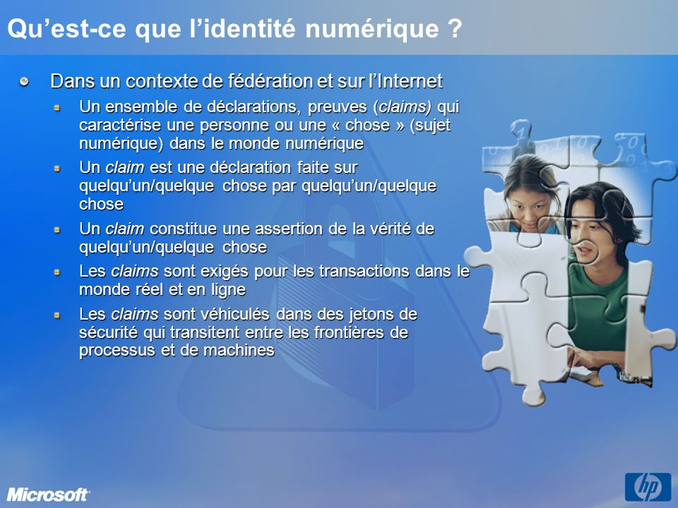 Qu'est-ce que l'identité numérique