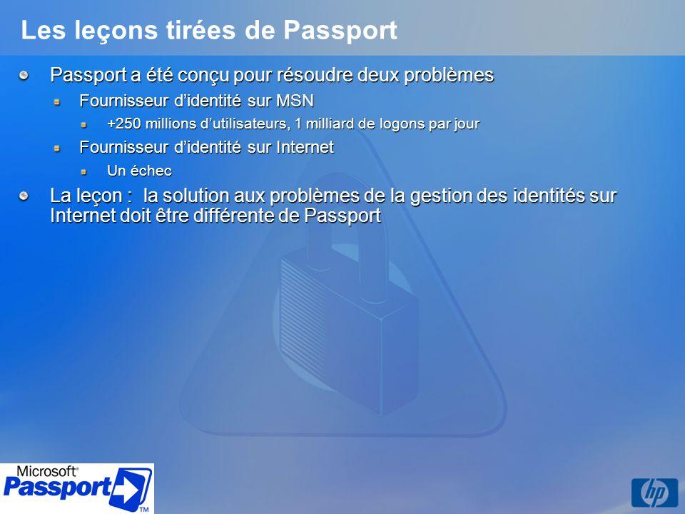 Les leçons tirées de Passport