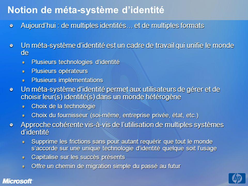 Notion de méta-système d'identité