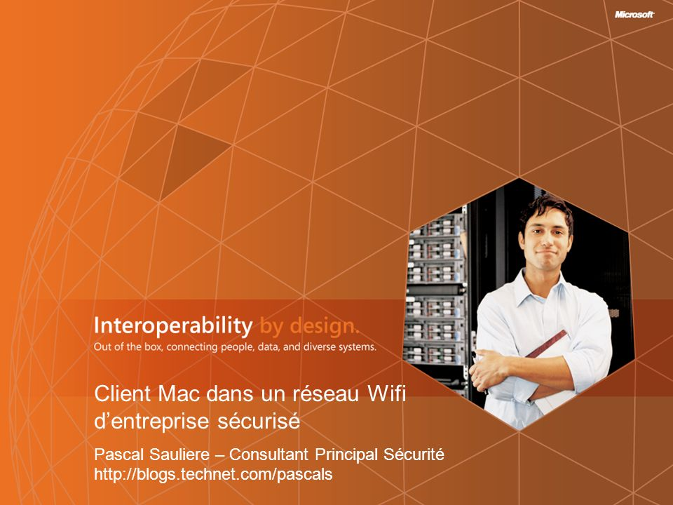 Client Mac dans un réseau Wifi d'entreprise sécurisé