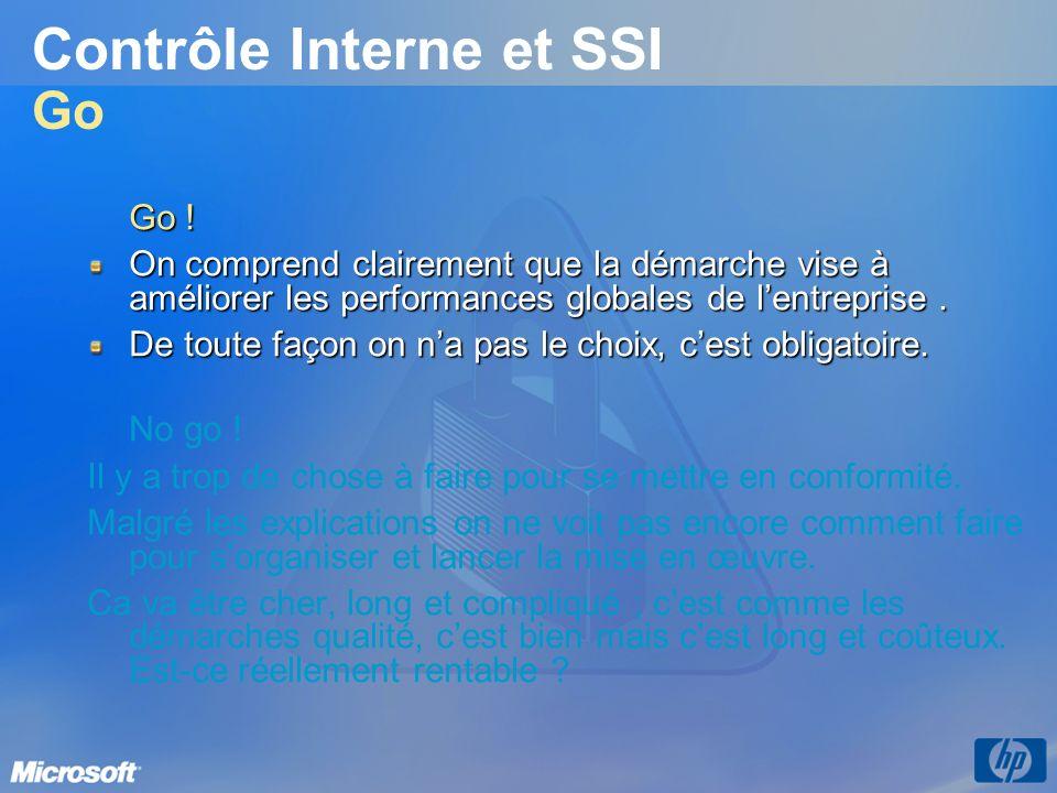 Contrôle Interne et SSI Go
