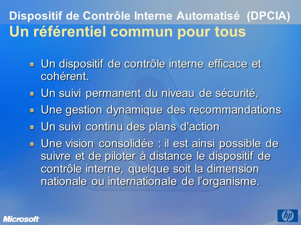Un dispositif de contrôle interne efficace et cohérent.