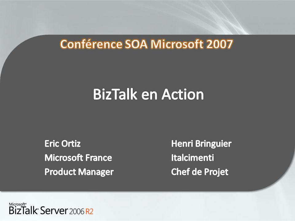 BizTalk en Action Eric Ortiz Microsoft France Product Manager