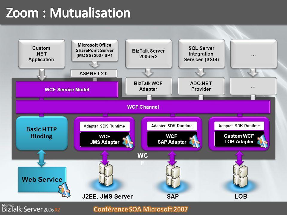 Zoom : Mutualisation Basic HTTP Binding Web Service WCF