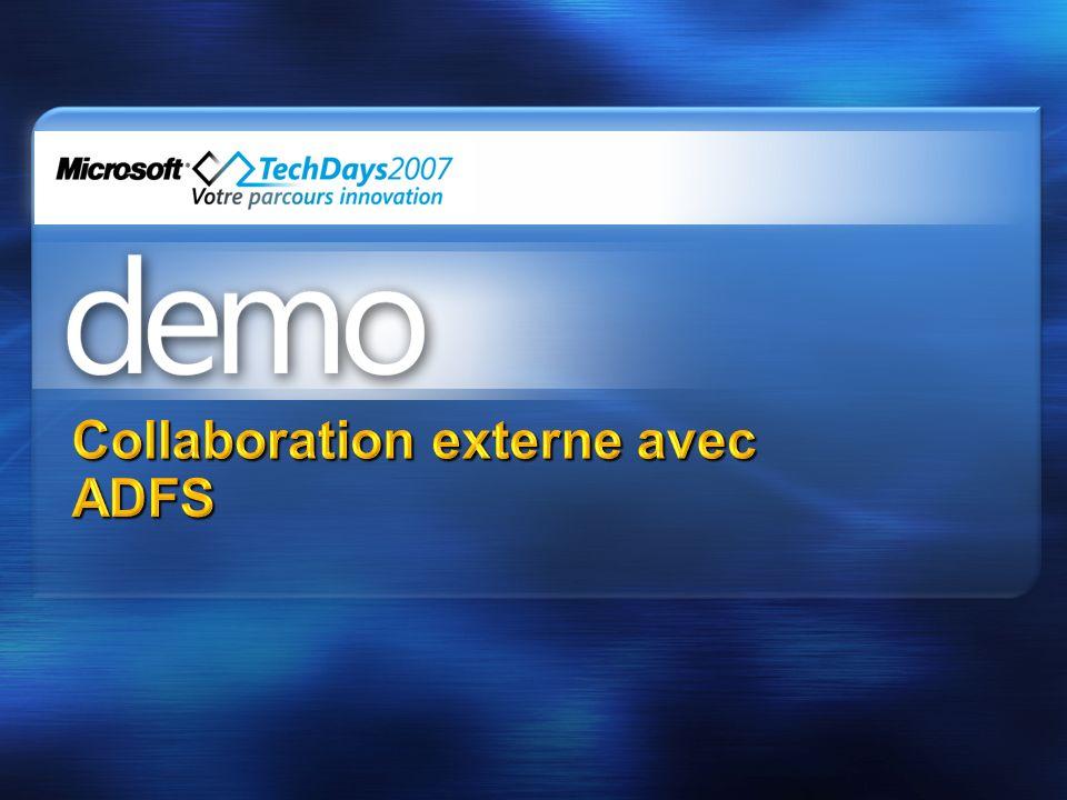 Collaboration externe avec ADFS
