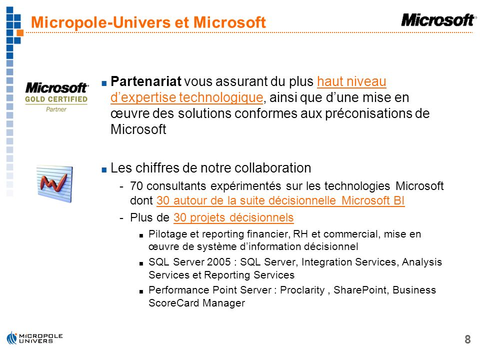 Micropole-Univers et Microsoft
