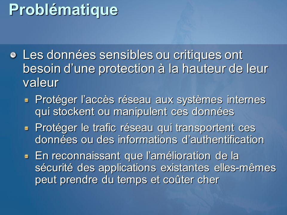 ProblématiqueLes données sensibles ou critiques ont besoin d'une protection à la hauteur de leur valeur.