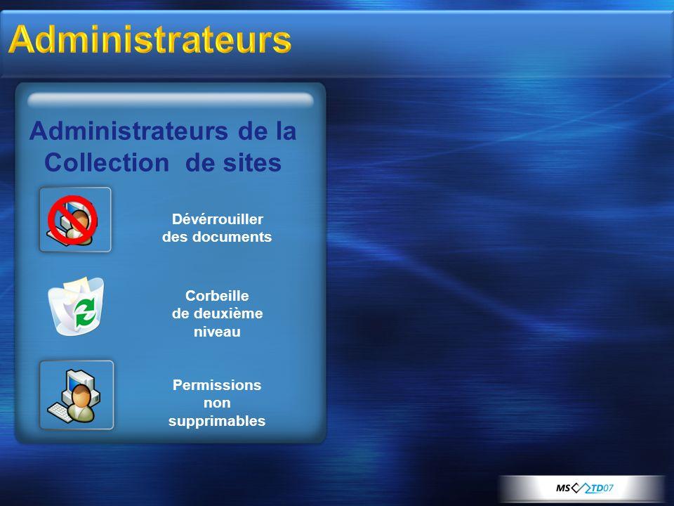 Dévérrouiller des documents Permissions non supprimables