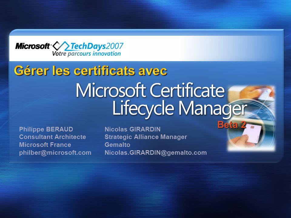 Gérer les certificats avec