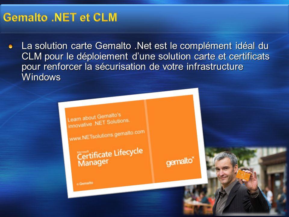 Gemalto .NET et CLM