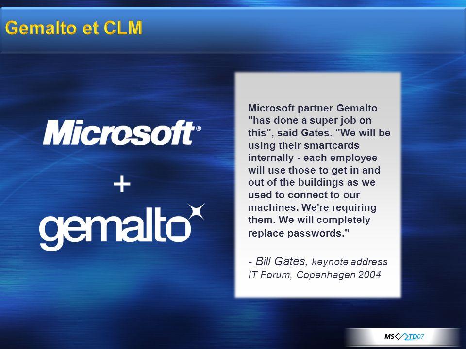 Gemalto et CLM