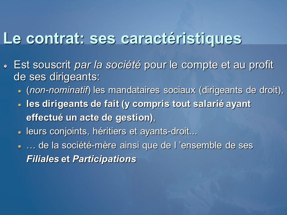 Le contrat: ses caractéristiques