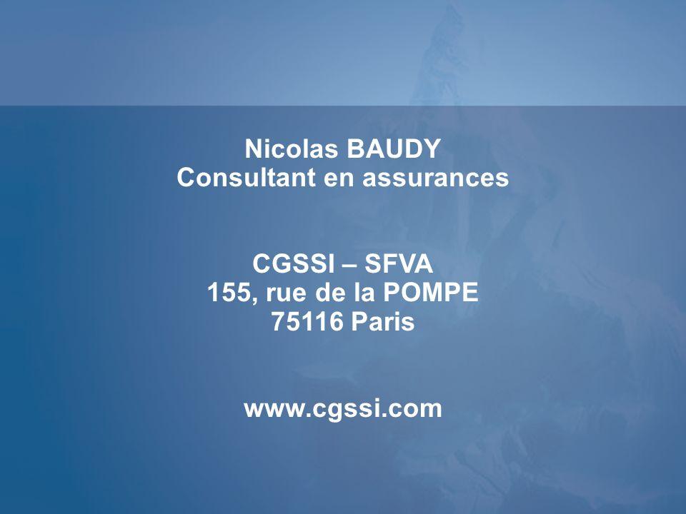 Consultant en assurances