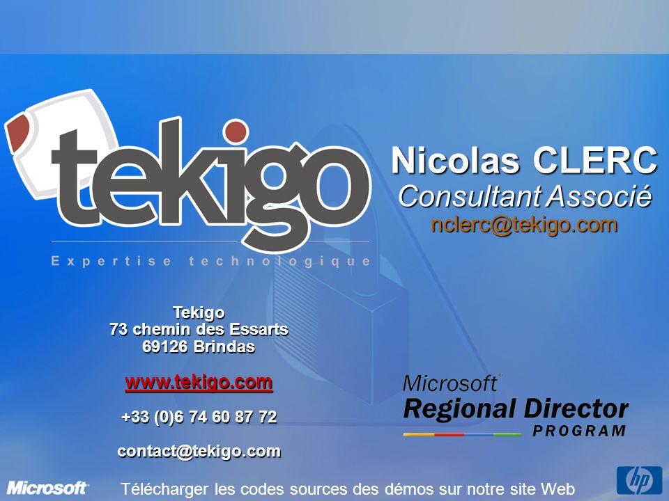 Nicolas CLERC Consultant Associé nclerc@tekigo.com www.tekigo.com