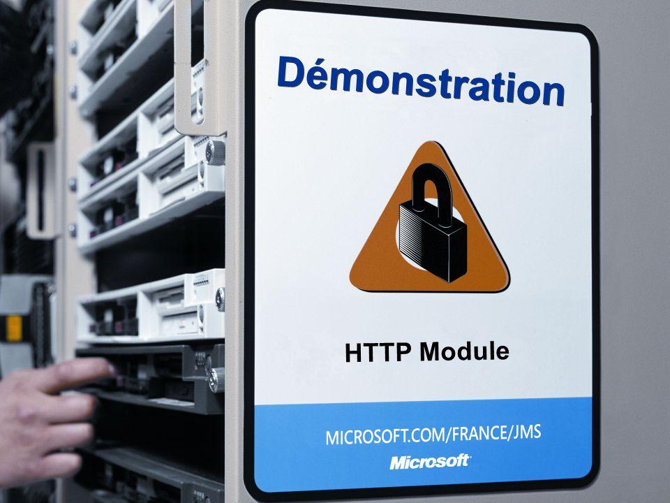 Démonstration HTTP Module 3/26/2017 3:56 PM
