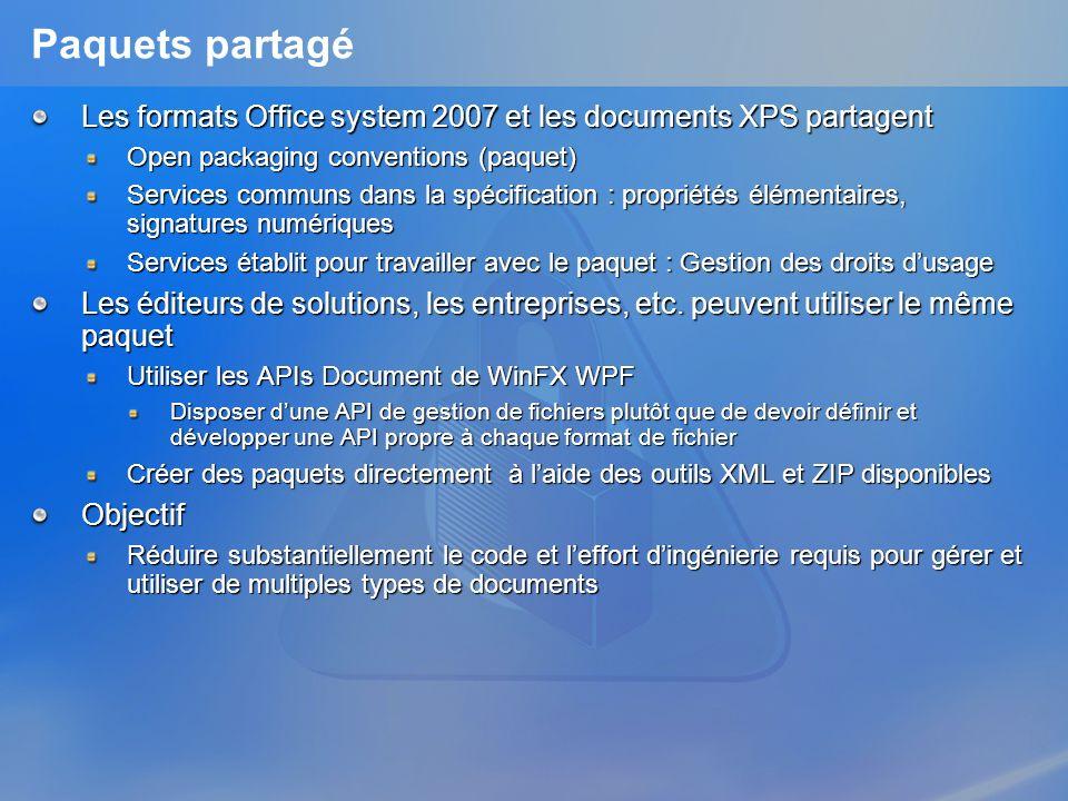 3/26/2017 3:56 PMPaquets partagé. Les formats Office system 2007 et les documents XPS partagent. Open packaging conventions (paquet)
