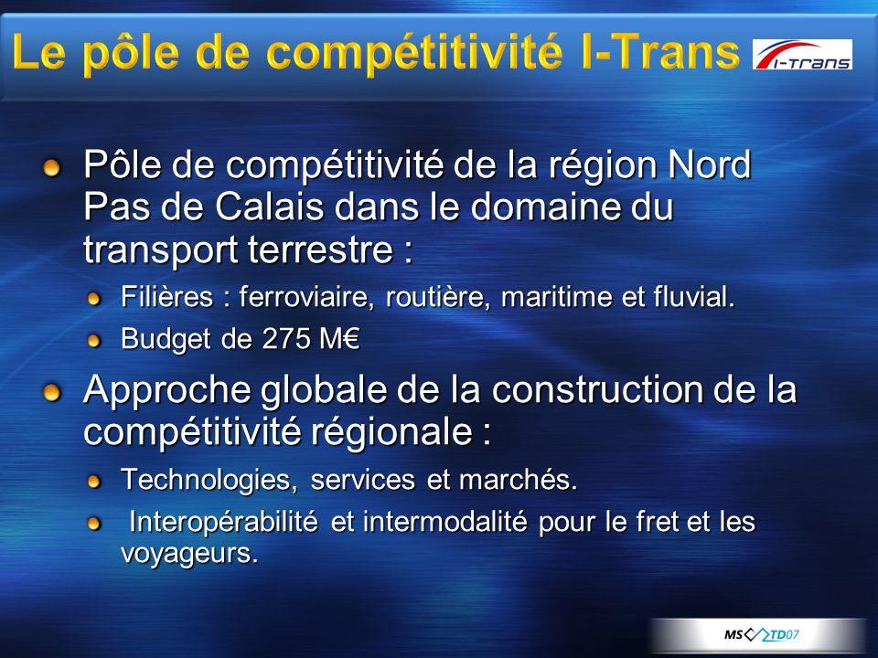 Le pôle de compétitivité I-Trans
