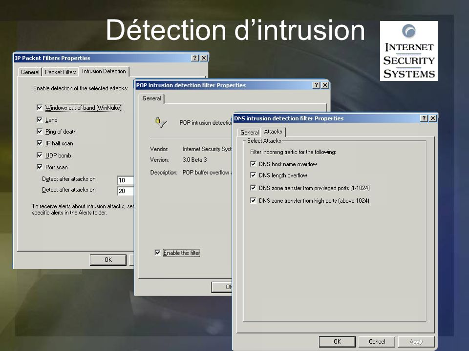 Détection d'intrusion