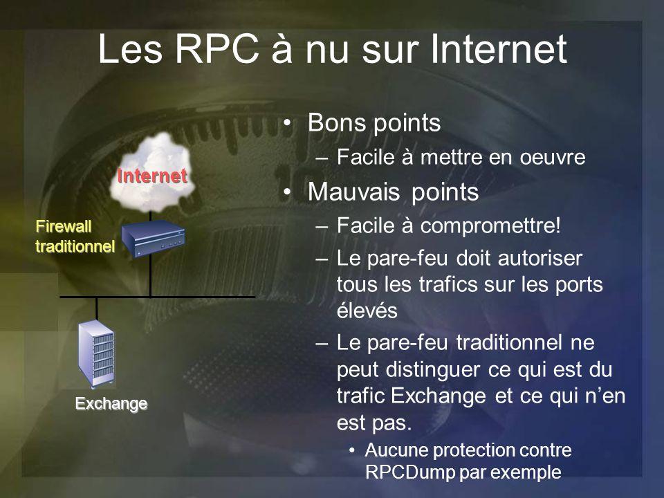 Les RPC à nu sur Internet