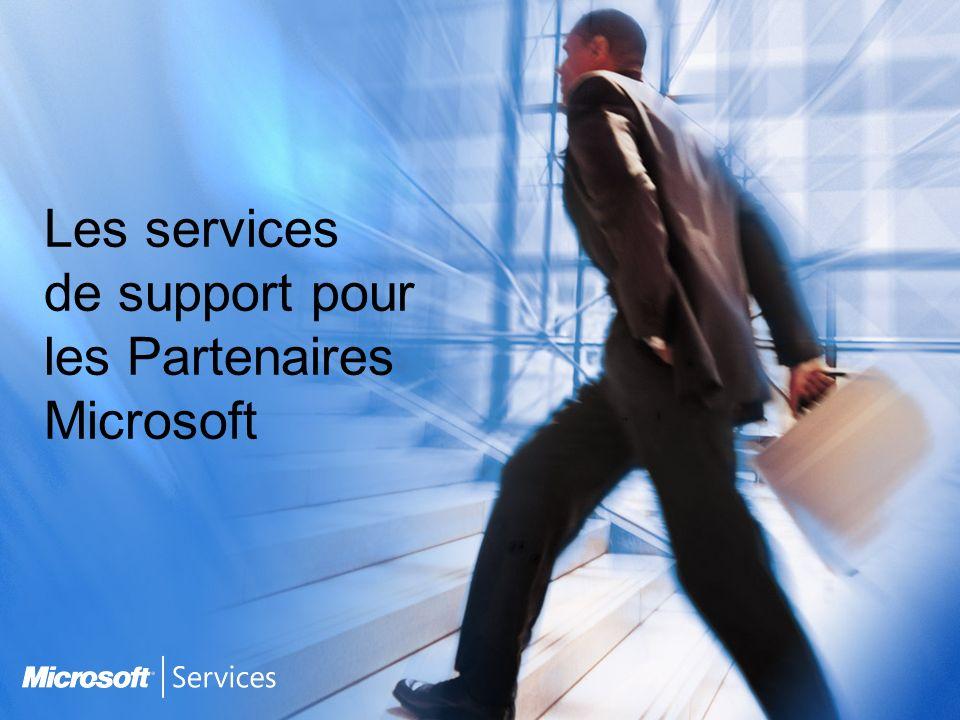 Les services de support pour les Partenaires Microsoft