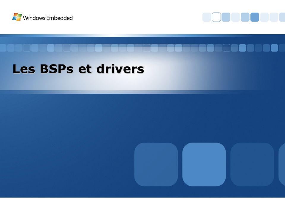 Les BSPs et drivers 3/26/2017 3:56 PM