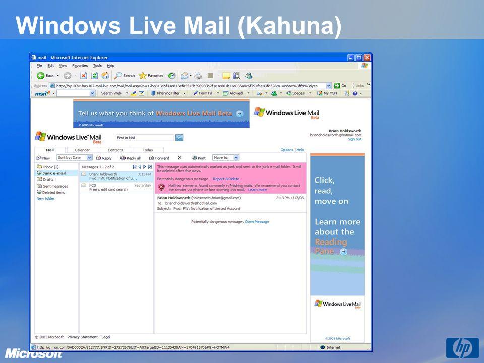 Windows Live Mail (Kahuna)