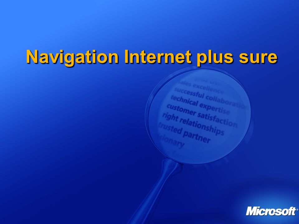 Navigation Internet plus sure