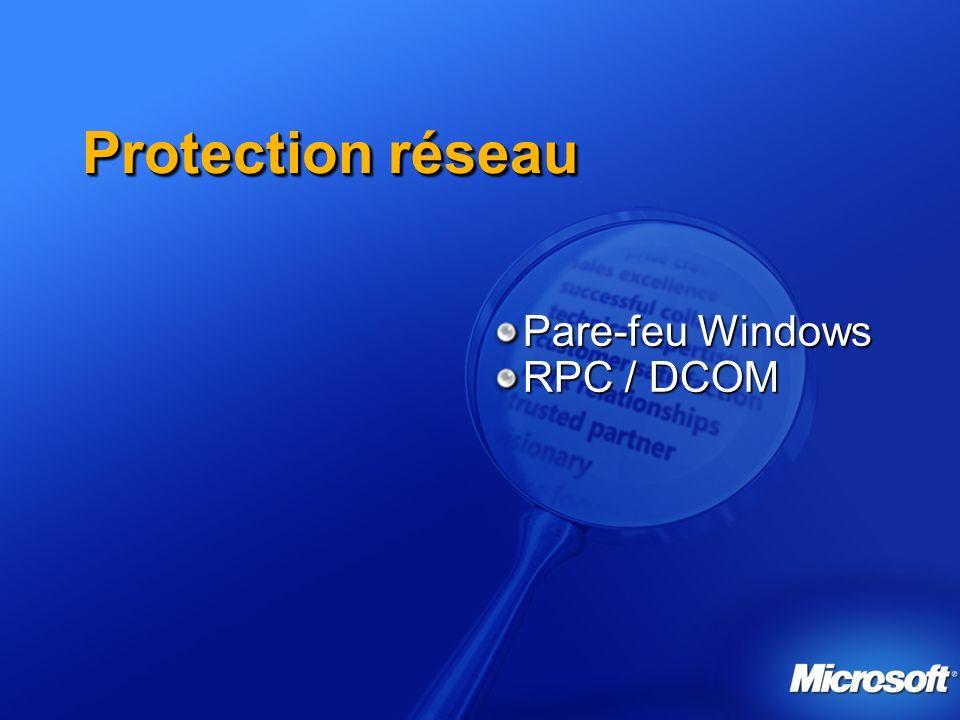 Pare-feu Windows RPC / DCOM