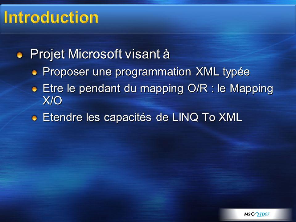 Introduction Projet Microsoft visant à