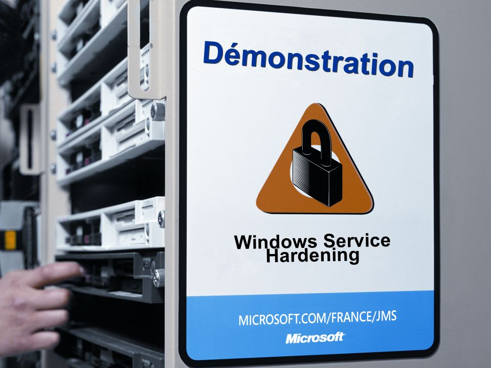 Windows Service Hardening