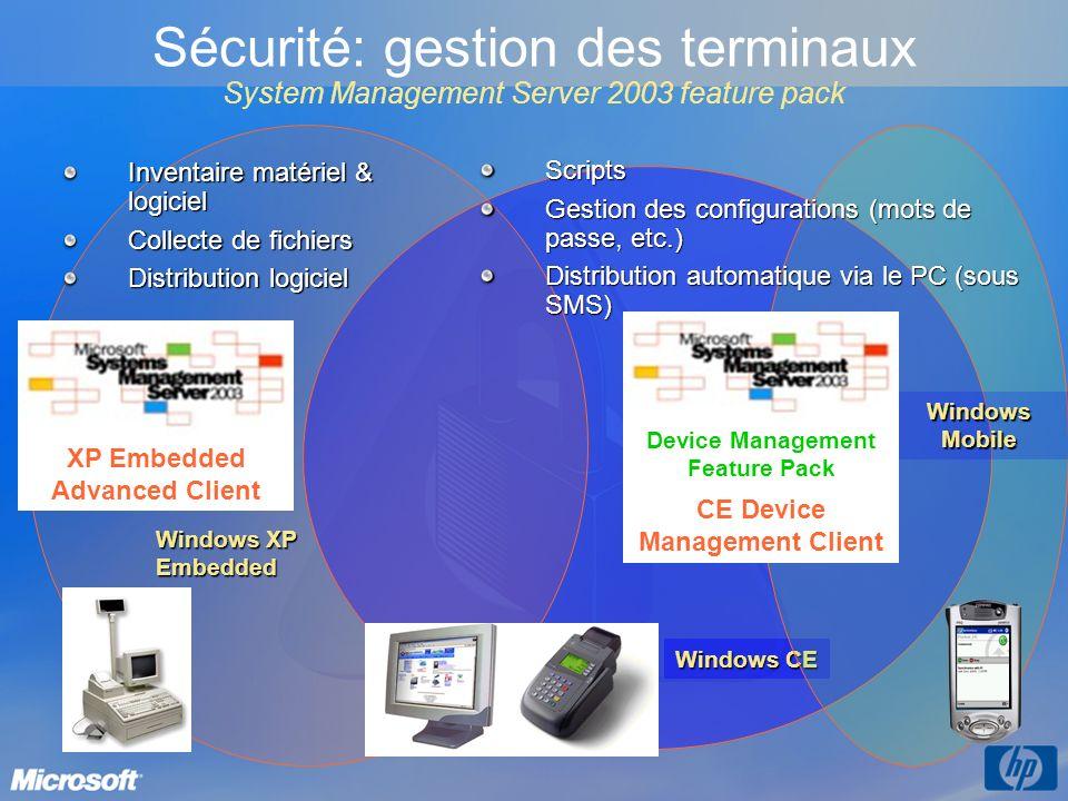 3/26/2017 3:57 PM Sécurité: gestion des terminaux System Management Server 2003 feature pack. Inventaire matériel & logiciel.