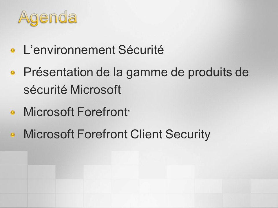 Agenda L'environnement Sécurité