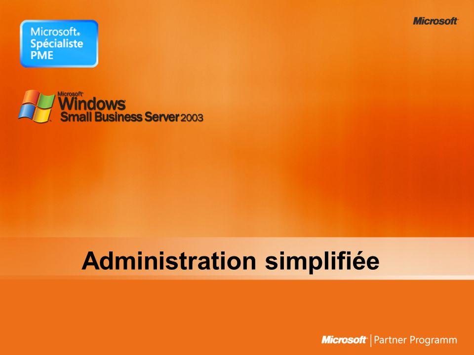 Administration simplifiée