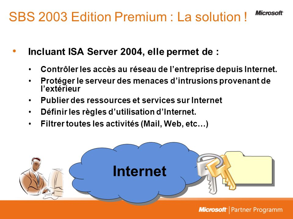 SBS 2003 Edition Premium : La solution !