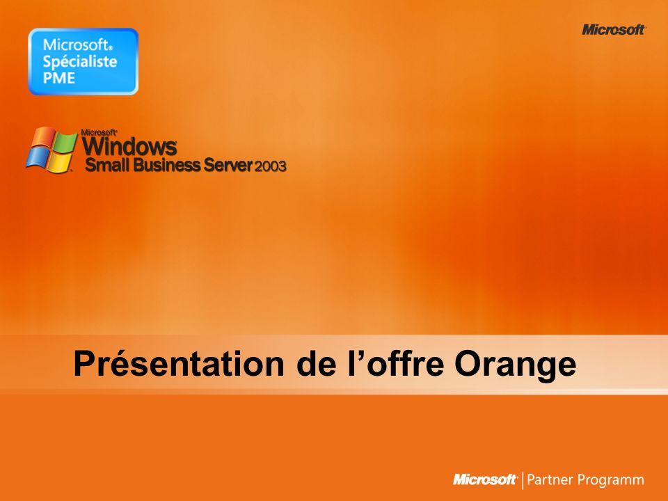 Présentation de l'offre Orange